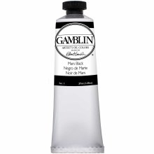 Gamblin Oil Colors, 37ml, Mars Black