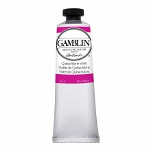 Gamblin Oil Colors, 37ml, Quinacridone Violet
