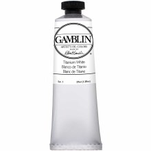 Gamblin Oil Colors, 37ml, Titanium White