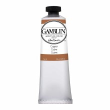 Gamblin Oil Colors, 37ml, Copper