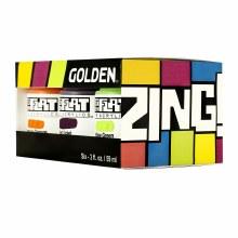 Golden SoFlat Matte Acrylic Sets - ZING