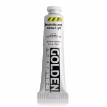 Golden Heavy Body Acrylics, 2 oz, Benzimidazolone Yellow Light