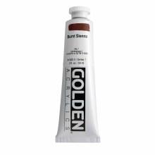 Golden Heavy Body Acrylics, 2 oz, Burnt Sienna