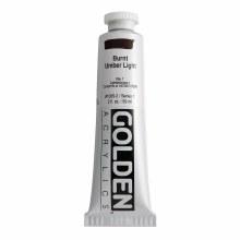 Golden Heavy Body Acrylics, 2 oz, Burnt Umber Light