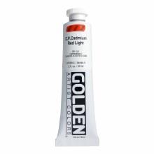 Golden Heavy Body Acrylics, 2 oz, Cadmium Red Light