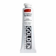 Golden Heavy Body Acrylics, 2 oz, Cadmium Red Medium