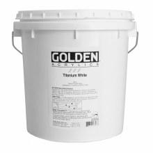 Golden Heavy Body Acrylics, Gallon Jars, Titanium White