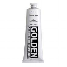 Golden Heavy Body Acrylics, 5 oz, Titanium White