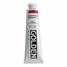 Golden Heavy Body Acrylics, 2 oz, Cadmium Red Medium Hue