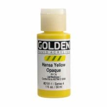 Golden Fluid Acrylics, 1 oz, Hansa Opaque Yellow