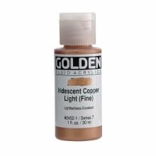 Golden Fluid Acrylics, 1 oz, Iridescent Light Copper