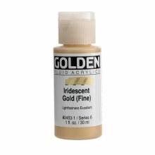 Golden Fluid Acrylics, 1 oz, Iridescent Gold