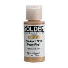 Golden Fluid Acrylics, 1 oz, Iridescent Deep Gold