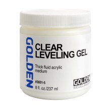 Clear Leveling Gels, 8 oz.