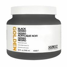 Gesso, Black Gesso, Quart