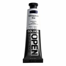 Golden OPEN Acrylics, 2 oz, Anthraquinone Blue