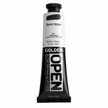 Golden OPEN Acrylics, 2 oz, Burnt Umber