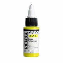 Golden High Flow Acrylics, 1 oz, Hansa Yellow Light