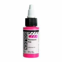 Golden High Flow Acrylics, 1 oz, Fluorescent Pink
