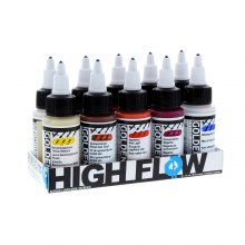 High Flow Acrylic Sets, 10-Color 1 oz. Assorted Set