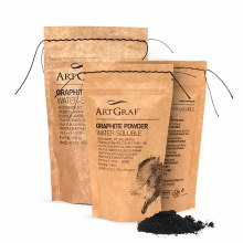 ArtGraf Water-Soluble Graphite & Carbon, ArtGraf Graphite Powder - 100gsm
