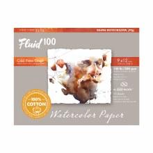 Fluid 100 Watercolor Paper Blocks, Cold Press, 9 in. x 12 in. - 140 lb., 15 Shts./Block