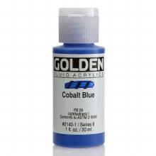 Golden Fluid Acrylics, 1 oz, Cobalt Blue