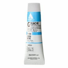 Acryla Gouache, 20ml Tubes, Aqua Blue