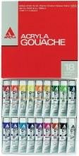 Holbein Acryla Gouache 18-Color 20ml Set