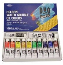 DUO Aqua Oil 12-Color 20ml Set, DUO Aqua Oil 12-Color 20ml Set