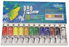 DUO Aqua Oil 12-Color 10ml Set, DUO Aqua Oil 12-Color 10ml Set