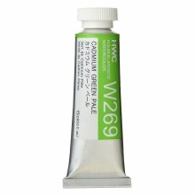 Artists Watercolor, 15ml, Cadmium Green Pale