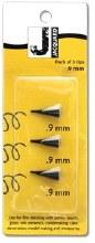 Plastic Tips, 3 Pack of .9mm Plastic Tips - For 1/2 fl. oz./14ml Applicator Bottle (JAACC1791)