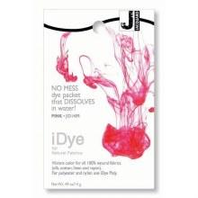 iDye Fabric Dye, 100% Natural Fabric iDye, Pink