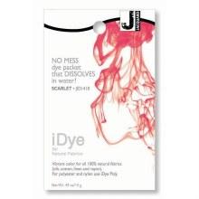 iDye Fabric Dye, 100% Natural Fabric iDye, Scarlet