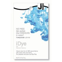iDye Fabric Dye, 100% Natural Fabric iDye, Turquoise