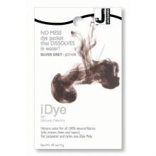 iDye Fabric Dye, 100% Natural Fabric iDye, Silver Gray