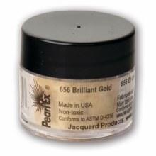 Pearl Ex Mica Pigments, 3g Jars, Brilliant Gold