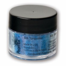 Pearl Ex Mica Pigments, 3g Jars, Turquoise