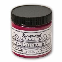 Professional Screen Printing Ink, 4 oz. Jars, Magenta