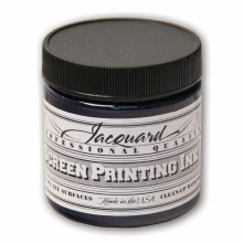 Professional Screen Printing Ink, 4 oz. Jars, Navy
