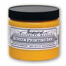 Professional Screen Printing Ink, 16 oz. Jars, Yellow