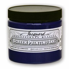 Professional Screen Printing Ink, 16 oz. Jars, Blue