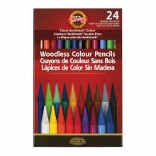Progresso Woodless Colored Pencil Sets, 24-Color Set