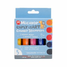 Chunky Stampers 5-Stamp Set, Chunky Stampers - 5/Pkg.