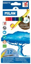 Water-Soluble Colored Pencil Sets, 12-Color Set