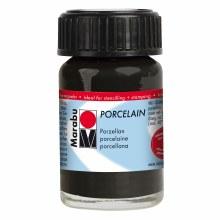 Porcelain Paint, 15ml Jars, Black