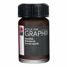 Graphix Aqua Ink, Dark Brown