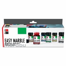 Easy Marble Starter Set, 6 Pieces