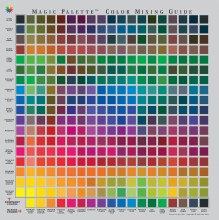 Magic Palette Color Mixing Guides, Personal Mixing Guide